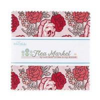 Riley Blake Fabrics - Charm Pack - Flea Market by Lori Holt of Bee in my Bonnet