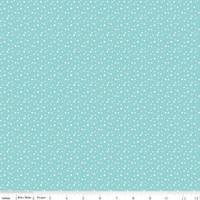 Riley Blake Fabric - Pixie Noel - Tasha Noel - Aqua #5255