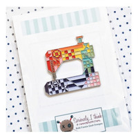 Kelli Fannin Quilt Designs - Stitch Happens Enamel Pin