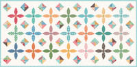 Riley Blake Designs - Flea Market by Lori Holt of Bee in My Bonnet - Table Runner Boxed Quilt Kit