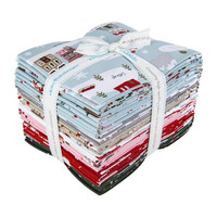 Riley Blake Designs - Fat Quarter Bundle - Warm Wishes by Simple Simon and Company