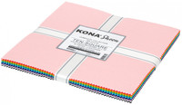 Robert Kaufman Fabric Precuts - Layer Cake - Kona Sheen Collection