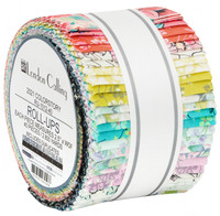 Robert Kaufman Fabric Precuts - London Calling 10 by RKF Collection - Jelly Roll