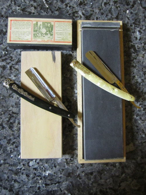 Straight Razor Hone and Strop Service (PI-SRH2)