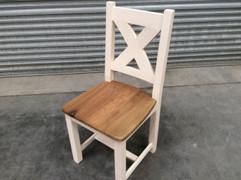 Maximus White Dining Chair