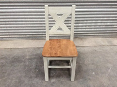 Maximus French Grey Dining Chair