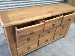 Danube 9 Drawer Chest