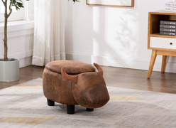 Daisy Cow Foot Stool-with Storage