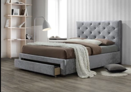 Melania 4'6 Bed
