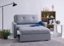 Davina Sofa Bed-Grey