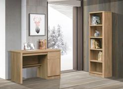 Troy Oak Bookcase