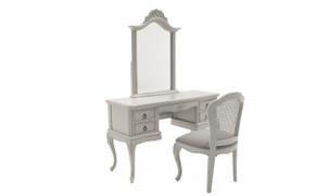 Camille Dressing Table & Mirror