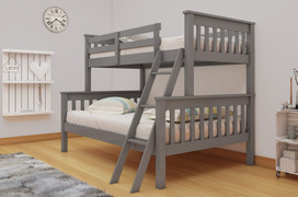 Dux Bunk Bed-3' & 4'6 Grey