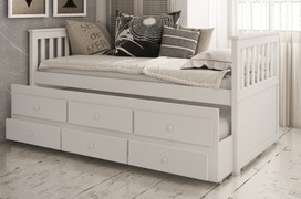 Fos Day Bed-White