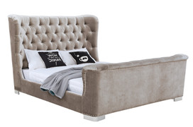 Belvedere Bed 5'-Champagne