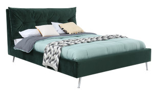 Avery 4'6 Bed-Green
