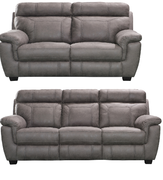 Baxter 3+2 Seater-Grey