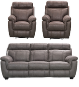 Baxter 3+1+1 Seater-Grey