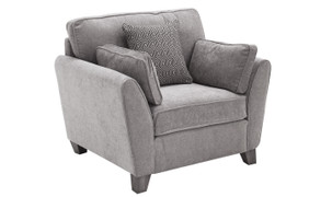 Cantrell 1 Seater-Silver