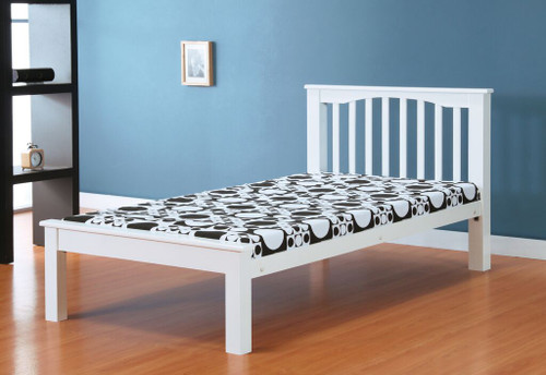 Sandra White 4ft Small Double Bed