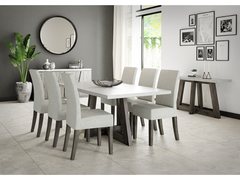 Austin Dining Set with 6 Chairs (190cm)