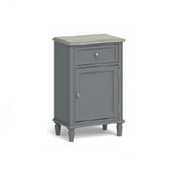 Marseille Telephone Table-Grey