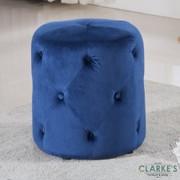 Pinot Footstool-Blue