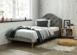 Chloe Bed-Grey