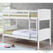 Cassie Bunk Bed-White