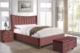 Aurora Pink 4'6 Bed