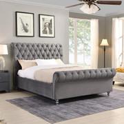 Kilkenny 6' Bed-Grey