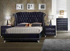 Jasmine 6' Bed-Black
