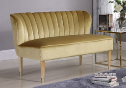 Bella Love Seat-Gold