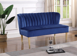 Bella Love Seat-Blue