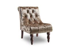 Ashley Velvet Chair-Mink
