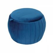 18404 Footstool-Blue