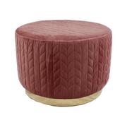 18403 Footstool-Pink