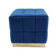 18401 Footstool-Royal Blue