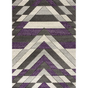 Asher Rug-Navy/Lilac (160/220 cm)