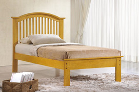 Milan Oak Colour 3ft Single Bed