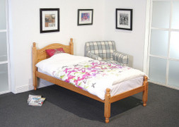 Lucy 3ft Single Pine Bed