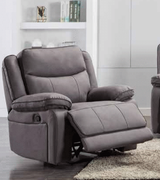 Brody 1 Seater-Light Grey