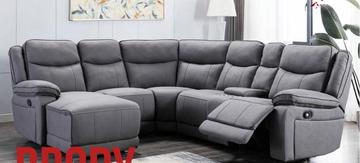 Brody Corner Suite- Light Grey