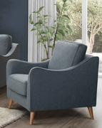 Robyn 1 Seater-Blue