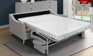 Robyn Sofa Bed-Light Grey