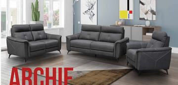 Archie 3+2+1 Seater-Slate