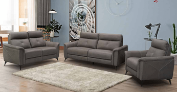 Archie 3+2+1 Seater-Grey