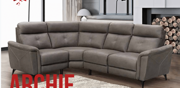Archie Corner Suite-Grey