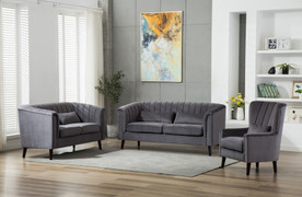 Meabh  3+2+1 Seater-Grey