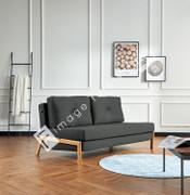 Harley Double Sofa Bed-Grey
